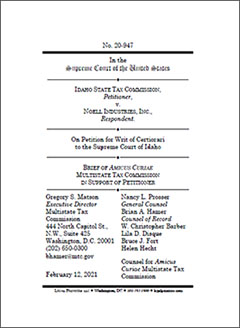 Noell Industries, Inc. v. Idaho State Tax Commission